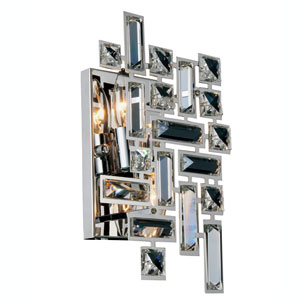 Picasso Chrome Two-Light Wall Sconce