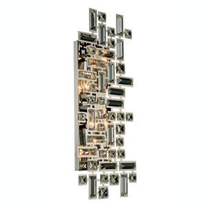 Picasso Chrome Four-Light Wall Sconce