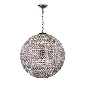 Cabaret Chrome 12-Light Pendant