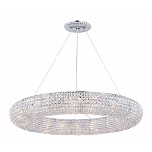Paris Chrome 18-Light Chandelier