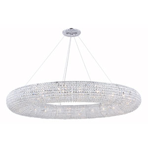 Paris Chrome 24-Light Chandelier