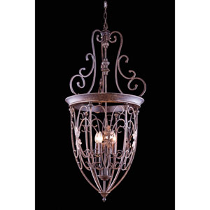 Troy Gilded Umber Six-Light Pendant