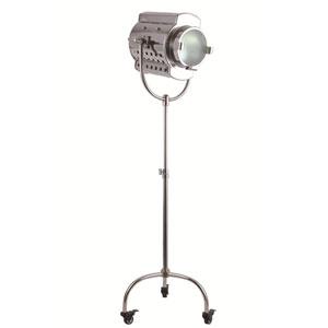Ansel Tripod Chrome Twenty-Six-Inch Floor Lamp