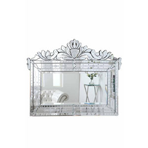Venetian Silver 59-Inch Mirror