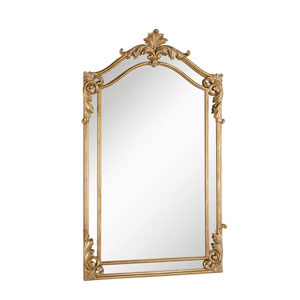 Antique Gold 30-Inch Mirror