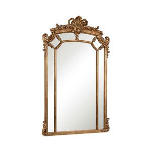 Antique Gold 30-Inch Mirror