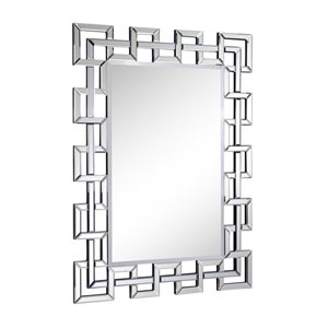 Modern Clear 48-Inch Rectangle Mirror