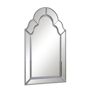 Antique Clear 25-Inch Mirror