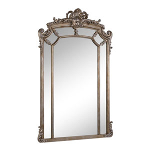 Antique Silver Clear 30-Inch Mirror