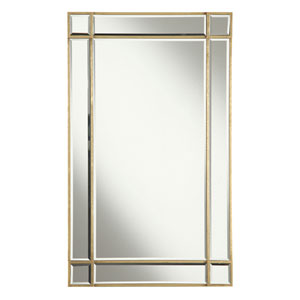 Florentine Gold Clear 22-Inch Rectangle Mirror