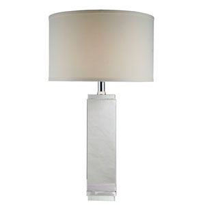 Regina Chrome Seventeen-Inch Table Lamp