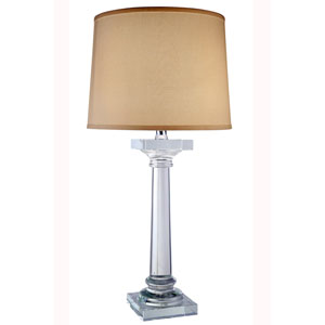 Regina Chrome Sixteen-Inch Table Lamp