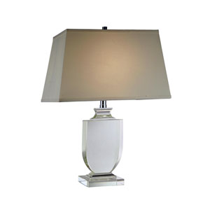 Regina Chrome Twenty-Five-Inch Table Lamp