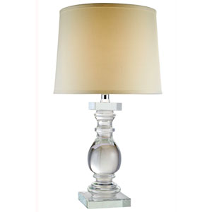 Regina Chrome Twenty-Eight-Inch Table Lamp
