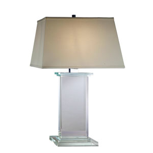 Regina Chrome Eleven-Inch Table Lamp