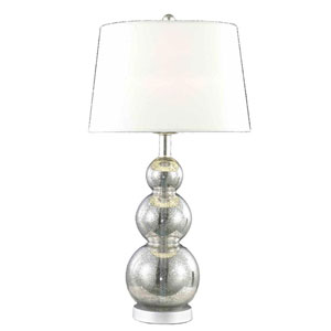 Belmont Crystal Silver One Light 26.5-in Table Lamp