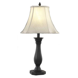 Belmont Crystal Black One Light 26-in Table Lamp