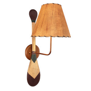 Rustic Living II Stain Lakeside One-Light Wall Sconce