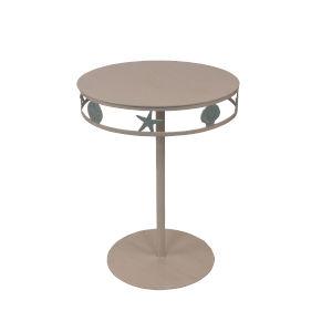 Coastal Living Nude Atlantic Gray End Table