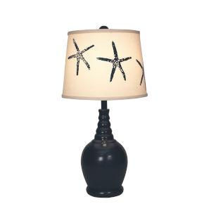 Coastal Lighting Solid Navy One-Light Table Lamp