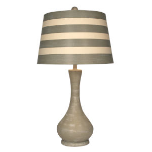 Coastal Lighting Weathered Sisal One-Light Table Lamp