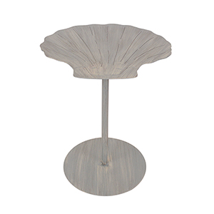 Coastal Living Cottage Seaside Villa End Table with Shell Top