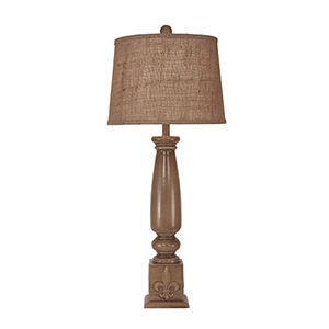 Casual Living Cottage Glaze One-Light 34-Inch Table Lamp