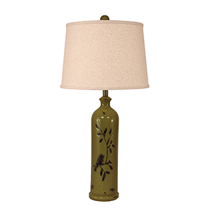 Casual Living Distressed Lime One-Light Table Lamp
