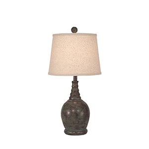 Casual Living Atlantic Gray One-Light 24-Inch Table Lamp