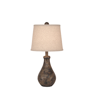 Casual Living Tarnished Cottage One-Light Table Lamp