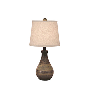 Casual Living Earthstone One-Light Table Lamp