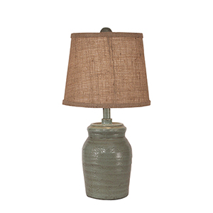 Casual Living Atlantic Gray One-Light Table Lamp