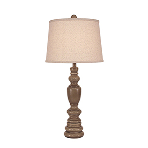 Casual Living Cottage Glaze One-Light 31-Inch Table Lamp