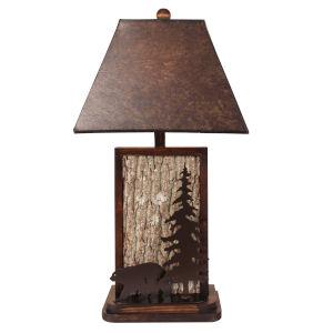 Rustic Living Aspen Dark Bronze One-Light Table Lamp