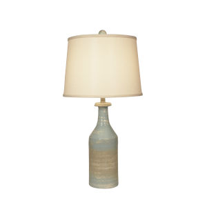 Distressed Bay  One-Light  14-Inch Table Lamp