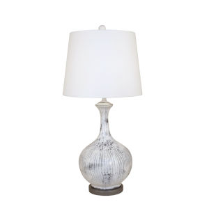 Farmhouse and Grey   One-Light 16-Inch Table Lamp