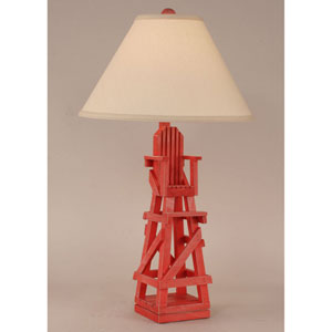 Coastal Living Cottage Classic Red One-Light Table Lamp