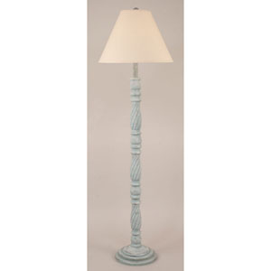 Coastal Living Cottage Atlantic Grey One-Light Floor Lamp