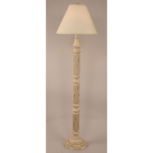 Coastal Living Heavy Distressed Cottage One-Light Floor Lamp