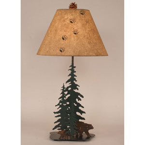 Rustic Living Outland One-Light Table Lamp