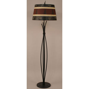 Rustic Living Kodiak One-Light Floor Lamp