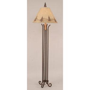 Rustic Living Rust One-Light Floor Lamp