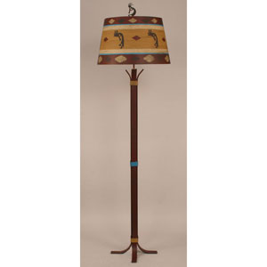 Rustic Living South Western One-Light Floor Lamp
