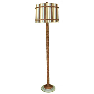 Coastal Living Antique Atlantic Grey One-Light Floor Lamp