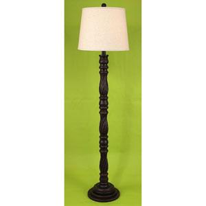 Casual Living Rust Streaked One-Light Floor Lamp