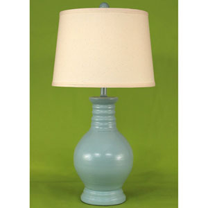 Casual Living High Gloss Atlantic Grey One-Light Table Lamp