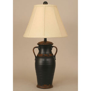 Casual Living Aged Black One-Light Table Lamp