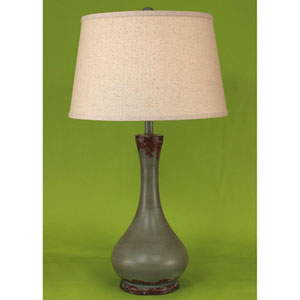 Casual Living Aged Atlantic Grey One-Light Table Lamp
