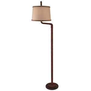 Coastal Living Dark Sandalwood One-Light Floor Lamp