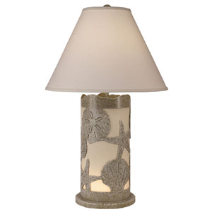 Coastal Living Paradise One-Light Table Lamp with Night Light